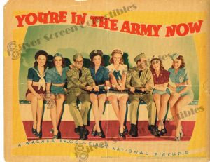 Lobby Card From You're in the Army Now