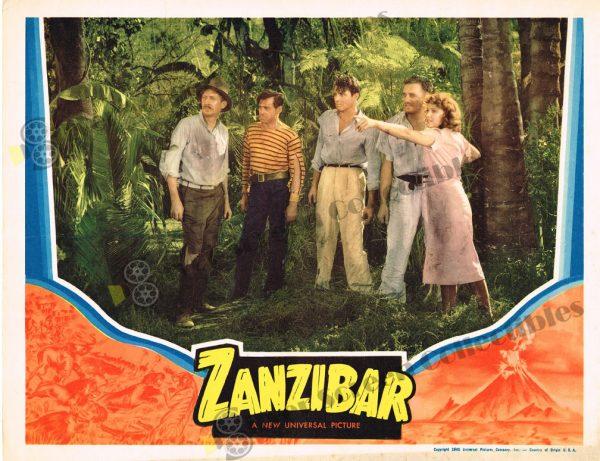 Lobby Card from  Zanzibar