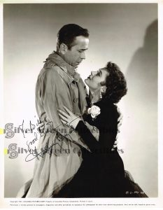 Vintage 8x10 Photo signed by Humphrey Bogart