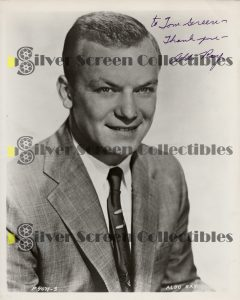 Photo Signed by Aldo Ray