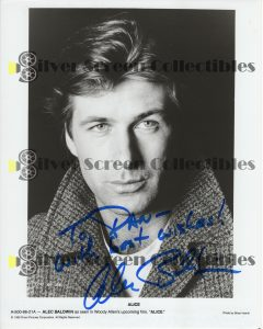 Photo Signed by Alec Baldwin