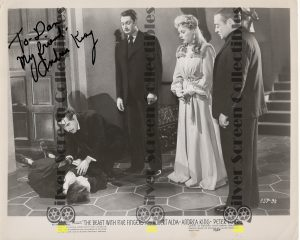 Photo Signed by Andrea King