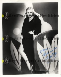 Photo Signed by Anita Page