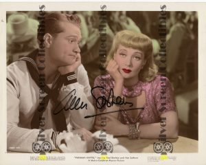Photo Signed by Ann Sothern