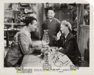 Photo Signed by Anna Lee