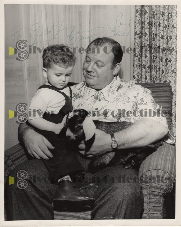 Photo Signed By Burl Ives