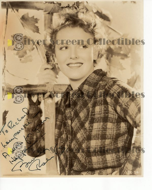 Photo Signed By Beverly Roberts