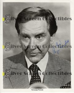 Photo Signed by Burgess Meredith