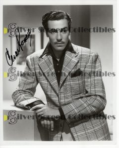 Photo Signed by Cesar Romero