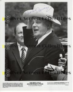 Photo Signed by Charles Durning