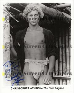 Photo Signed by Christopher Atkins
