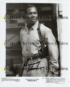 Photo Signed by Danny Glover