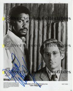Photo Signed by Denzel Washington