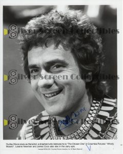 Photo Signed by Dudley Moore