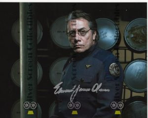 Photo Signed by Edward James Olmos