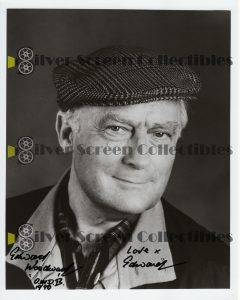 Photo Signed by Edward Woodward