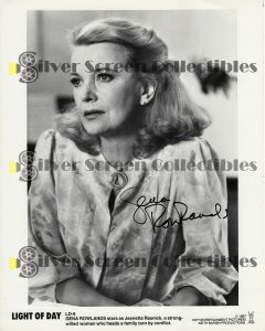 Photo Signed by Gena Rowlands