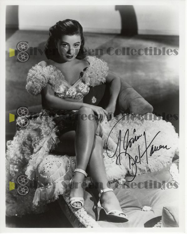 Photo Signed By Gloria Dehaven