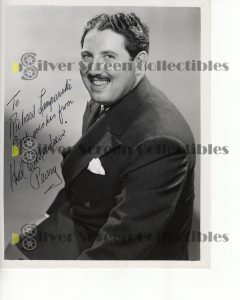 Photo Signed By Harold Peary