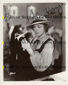 Photo Signed by Helen Hayes