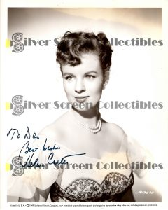Photo Signed by Helena Carter