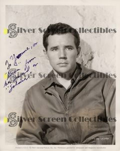 Photo Signed by Howard Duff