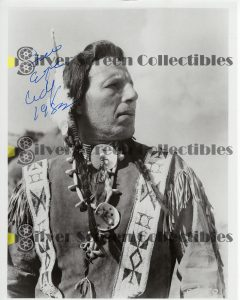 Photo Signed by Iron Eyes Cody