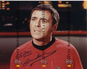 Photo Signed by James Doohan