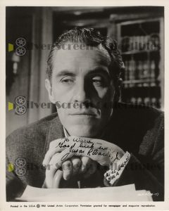 Photo Signed By Jason Robards