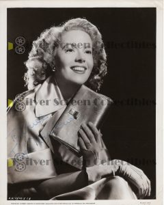 Photo Signed By Jayne Meadows