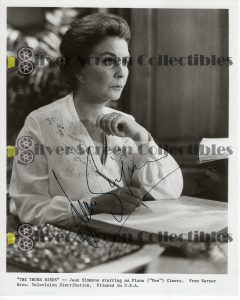 Photo Signed by Jean Simmons