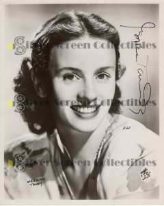 Photo Signed By Jessica Tandy