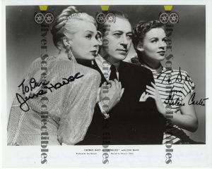 Signed Photo from Intrigue (1947)