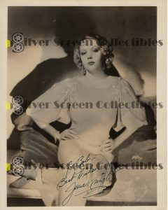 Photo Signed by June Knight