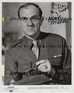 Photo Signed by Karl Malden