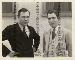 Photo Signed by King Vidor & Colleen Moore