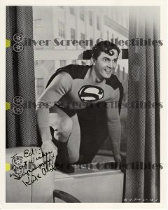 Photo Signed by Kirk Alyn