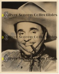 Photo Signed by Leo Carrillo