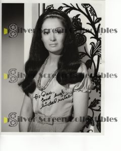 Photo Signed by Linda Cristal