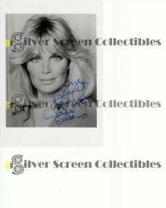 Photo Signed by Linda Evans