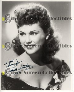 Photo Signed by Linda Stirling