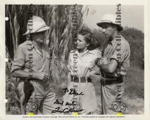 Photo Signed by Lois Collier