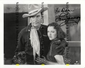 Photo Signed by Lois January