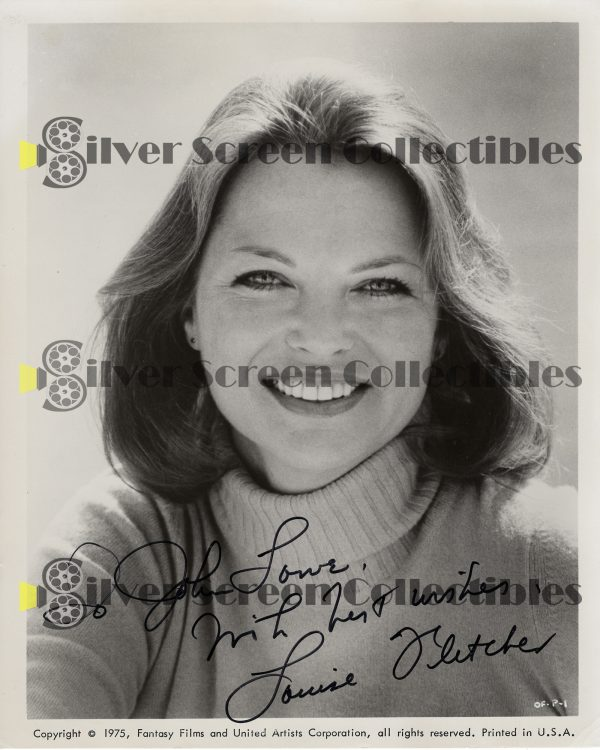Photo Signed by Louise Fletcher