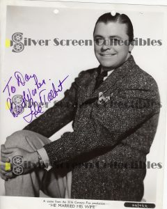 Photo Signed by Lyle Talbot