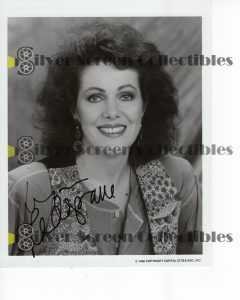 Photo Signed by Lynn Redgrave