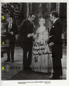 Photo Signed by Madge Bellamy