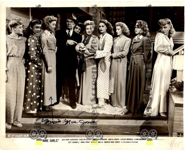Photo Signed by Marcia Mae Jones