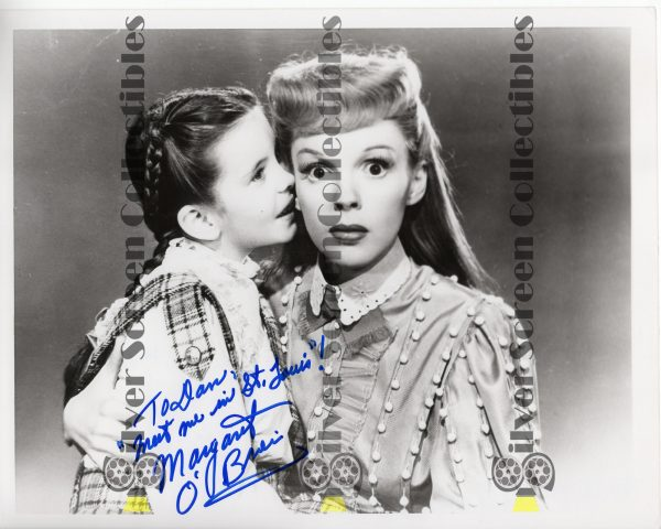 Photo Signed by Margaret O'Brien