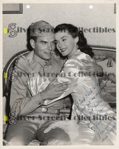 Photo Signed by Marguerite Chapman